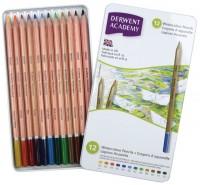 Карандаши Derwent Academy Watercolour Set of 12