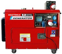 Электрогенератор KrafTWele SDG 9800S 3F ATS