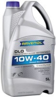 Моторное масло Ravenol DLO 10W-40 5L