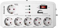 Сетевой фильтр / удлинитель Defender DFS 805