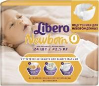 Подгузники Libero Newborn 0 / 24 pcs