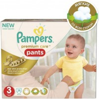 Подгузники Pampers Premium Care Pants 3 / 28 pcs