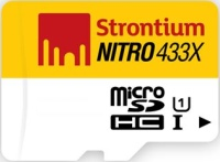 Фото - Карта памяти Strontium Nitro microSDHC UHS-I 433x 16Gb