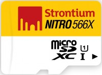 Карта памяти Strontium Nitro microSDXC UHS-I 566x 64Gb