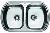 Кухонная мойка Cristal Olivia Duo UA7702ZS
