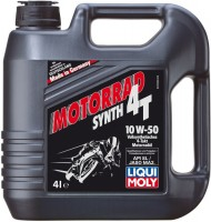 Моторное масло Liqui Moly Motorrad Synth 4T 10W-50 4L
