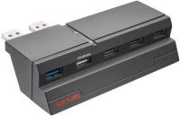 Картридер/USB-хаб Trust GXT 215 PS4
