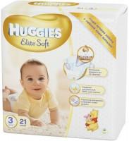 Фото - Подгузники Huggies Elite Soft 3 / 21 pcs