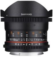 Фото - Объектив Samyang 12mm T3.1 VDSLR ED AS NCS Fish-eye