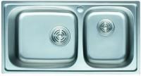 Кухонная мойка Cristal Frant Plus UA5109ZS