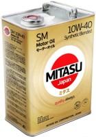 Моторное масло Mitasu Motor Oil SM 10W-40 4L
