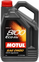 Моторное масло Motul 8100 Eco-Lite 0W-20 5L