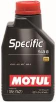 Моторное масло Motul Specific 948B 5W-20 1L