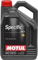 Фото - Моторное масло Motul Specific 948B 5W-20 5L