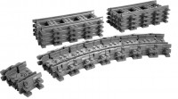 Фото - Конструктор Lego Flexible and Straight Tracks 7499