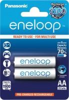 Аккумуляторная батарейка Panasonic Eneloop 2xAA 1900 mAh