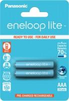 Аккумуляторная батарейка Panasonic Eneloop Lite 2xAAA 550 mAh
