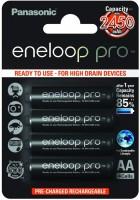 Аккумуляторная батарейка Panasonic Eneloop Pro 4xAA 2450 mAh