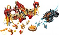 Фото - Конструктор Lego Flying Phoenix Fire Temple 70146