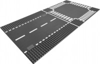Фото - Конструктор Lego Straight and Crossroad Plates 7280