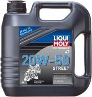 Фото - Моторное масло Liqui Moly Motorbike 4T 20W-50 Street 4L