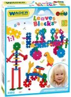 Конструктор Wader Leaves Blocks 41810