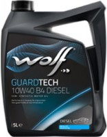 Моторное масло WOLF Guardtech 10W-40 B4 Diesel 5L