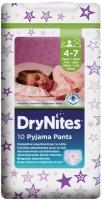 Подгузники Huggies DryNites Girl 1 / 10 pcs