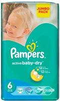 Фото - Подгузники Pampers Active Baby-Dry 6 / 54 pcs