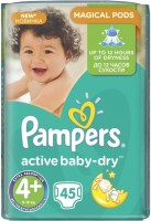 Фото - Подгузники Pampers Active Baby-Dry 4 Plus / 45 pcs