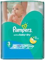 Фото - Подгузники Pampers Active Baby-Dry 3 / 15 pcs
