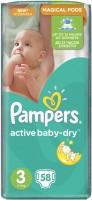 Фото - Подгузники Pampers Active Baby-Dry 3 / 58 pcs