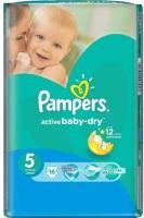 Фото - Подгузники Pampers Active Baby-Dry 5 / 16 pcs