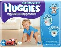 Фото - Подгузники Huggies Pants Boy 4 / 34 pcs