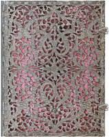 Блокнот Paperblanks Silver Filigree Pink Large
