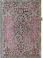 Блокнот Paperblanks Silver Filigree Pink Middle