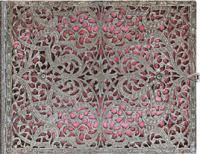 Блокнот Paperblanks Silver Filigree Pink Horizontal
