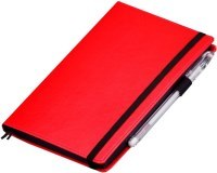 Блокнот Julada Black Rainbow Standart Red