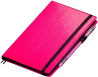 Блокнот Julada Black Rainbow Mini Pink