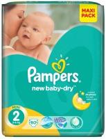 Фото - Подгузники Pampers New Baby-Dry 2 / 80 pcs