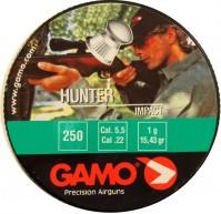 Пули и патроны Gamo Hunter 5.5 mm 1.0 g 250 pcs
