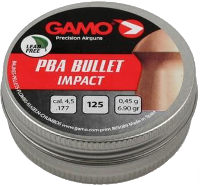 Пули и патроны Gamo PBA Bullet 4.5 mm 0.45 g 125 pcs
