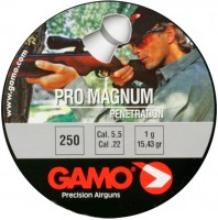 Пули и патроны Gamo Pro Magnum 5.5 mm 1.0 g 250 pcs