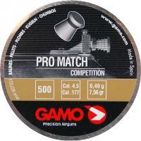 Пули и патроны Gamo Pro Match 4.5 mm 0.49 g 500 pcs