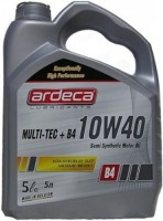 Моторное масло Ardeca Multi-Tec Plus B4 10W-40 5L