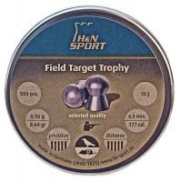 Пули и патроны Haendler & Natermann Diabolo Fienld&Target Trophy 4.5 mm 0.56 g 500 pcs