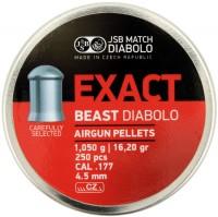 Пули и патроны JSB Beast 4.5 mm 1.05 g 250 pcs
