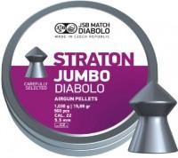 Пули и патроны JSB Diablo Jumbo Straton 5.5 mm 1.03 g 500 pcs