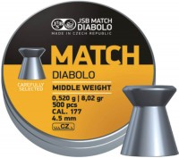 Пули и патроны JSB Match Diablo 4.51 mm 0.52 g 500 pcs