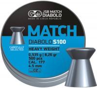Пули и патроны JSB Match Diablo S100 4.51 mm 0.53 g 500 pcs